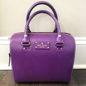 Purple Kate Spade Crossbody Purse